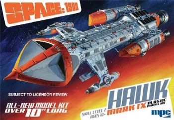 Space 1999 Hawk 1:72 Scale Model Kit MPC